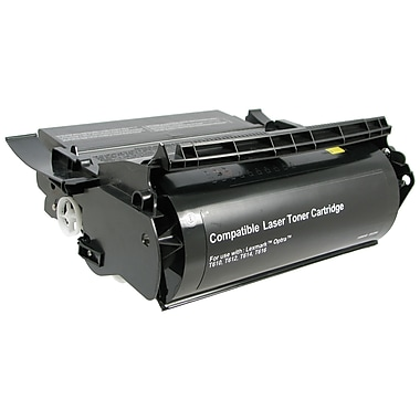 DATAPRODUCTS® Reman Black Toner Cartridge, Lexmark™ OPTRAT PTR (12A5845)