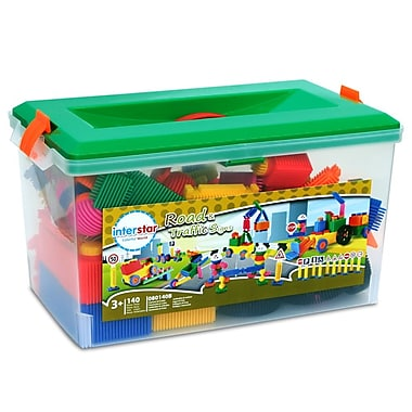 Interstar Road and Traffic Classroom Set, 140 Pieces