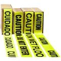 Impact® 3in. x 1000' Polyethylene Caution Barrier Tape, Yellow With Black Lettering