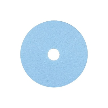 3M™ 17in. Hi-Performance Burnishing Pad, Sky Blue
