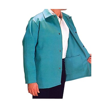 Anchor® Cotton Sateen Flame Retardant Jacket, Visual Green, 2X-Large