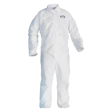 Kimberly-Clark Professional® A20 Breathable Particle Protection Coverall, White, 2X-Large, 24/Pack