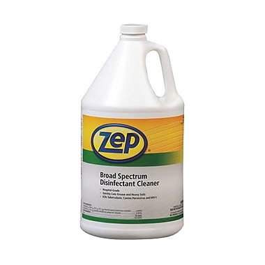 Zep Professional® Broad Spectrum Disinfectant Cleaner, Neutral Scent, 1 gal