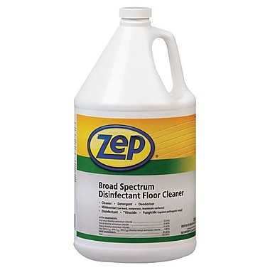 Zep Professional® Broad Spectrum Disinfectant Floor Cleaner, Fresh Sent, 1 gal