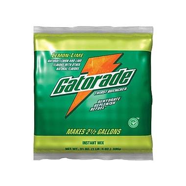 Gatorade® Powder Sports Drink Mix, Lemon-Lime, 21 oz., 32/Pack