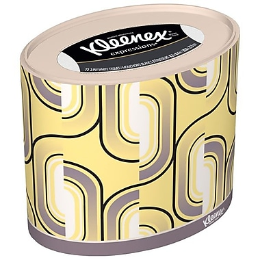 Kimberly-Clark Professional® Kleenex® 3-Ply Oval Facial Tissues, 27/Pack
