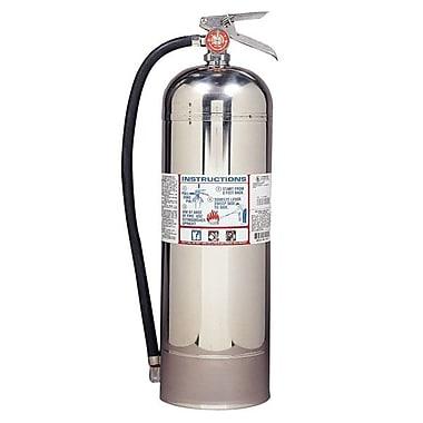 Kidde Pro Plus Line 2.5 W Fire Extinguisher, A Type, 100 psi