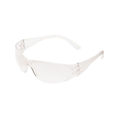 MCR Safety Checklite® Scratch-Resistant Safety Glasses, Clear Lens