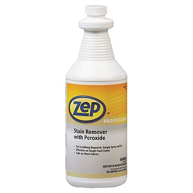 Zep Professional® Stain Remover With Peroxide, 1 qt Bottle