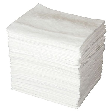 Brady® ENV™ MAXX ENHANCED Oil-Only Sorbent Pads, 16 gal