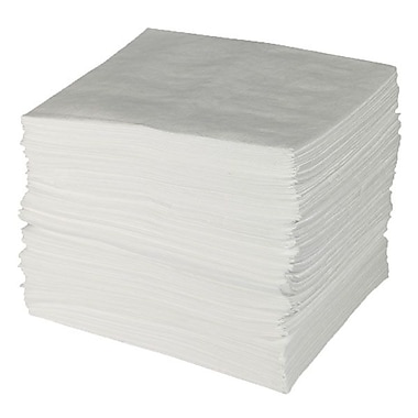 Brady® ENV™ MAXX ENHANCED Oil-Only Sorbent Pads, 28 gal