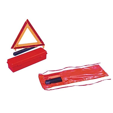 Kimberly-Clark Professional® Professional KCC 16414 Triangle Roadside Safety Kit, Orange/Red