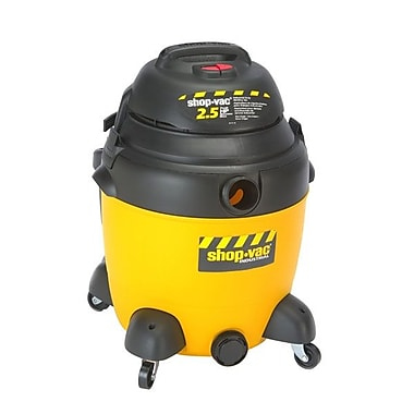 Shop-Vac® 2.5 HP Two-Stage Heavy Duty Industrial Wet/Dry Vacuum Cleaner, 12 gal.