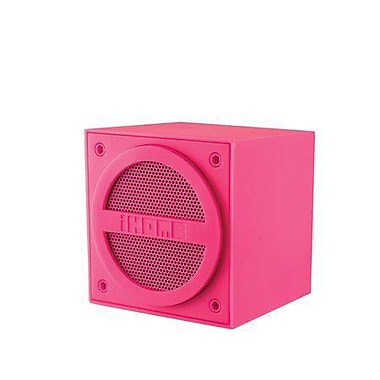iHome IBT16PC Bluetooth Mini Cube Speaker, Pink