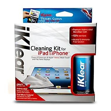 iKlear – Trousse de nettoyage IK-IPAD pour iPad et iPhone, bouteille de 2 oz, chiffon en microfibres