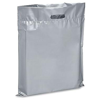 Die Cut Handle Lo-Density Poly Bag, 17