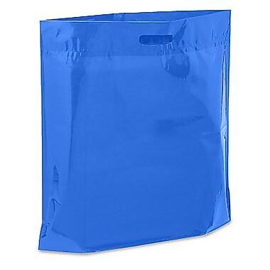Die Cut Handle Lo-Density Poly Bag, 20