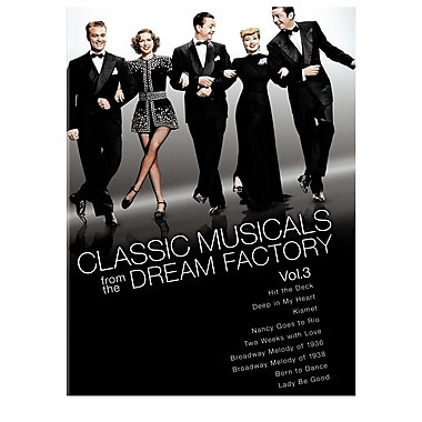 Classic Musicals From The Dream Factory Volume 3 (DVD)