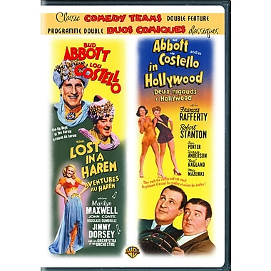 Abbott and Costello Lost In A Harem/Abbott and Costell in Hollywood (DVD)