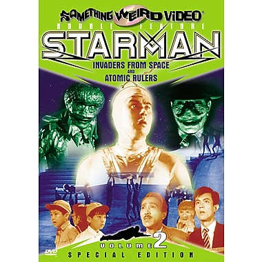 Starman #2: Invaders From Space/ Atomic Rulers (DVD)