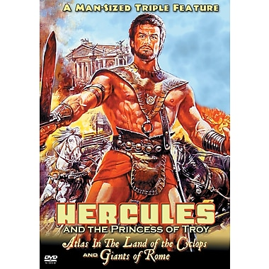Hercules and the Princess of Troy/Atlas in the Land of the Cyclops/Giants of Rome (DVD)