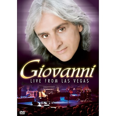 Giovanni: Live From Las Vegas (DVD)