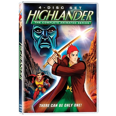 Highlander: The Complete Animated Series (DVD)