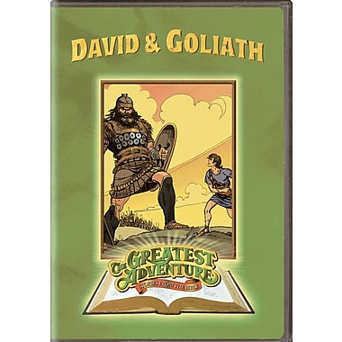 Greatest Adventures of The Bible: David and Goliath (DVD)