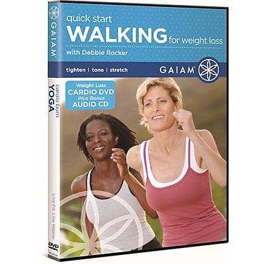 Quick Start Walking for Weight Loss DVD with Debbie Rocker (DVD)