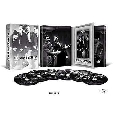 The Marx Brothers: The Cocoanuts/Animal Crackers/Monkey Business/Horse Feathers/Duck Soup (DVD)