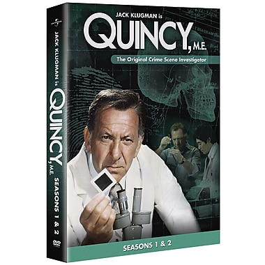 Quincy, M.E.: Season 1 and Season 2 (DVD)