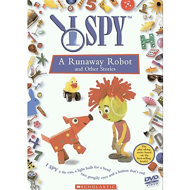I Spy:A Runaway Robot & Other Stories (DVD)