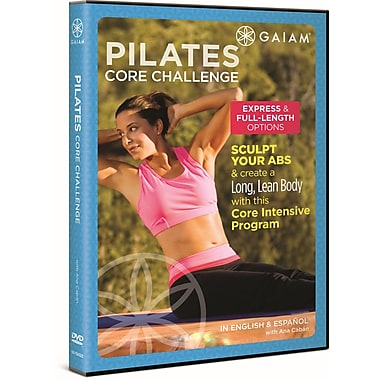 Pilates Core Challenge DVD with Ana Caban (DVD)