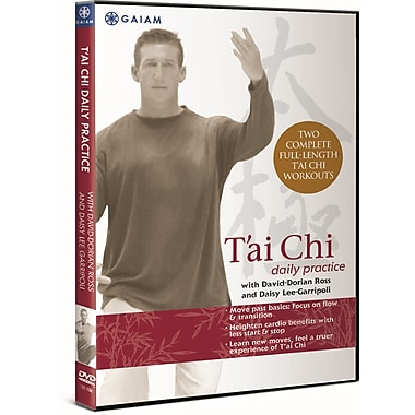 T'ai Chi Daily Practice DVD with David-Dorian Ross and Daisy Lee Garripoll (DVD)
