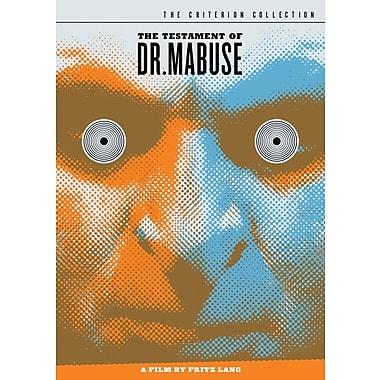 Testament of Dr. Mabuse (DVD)