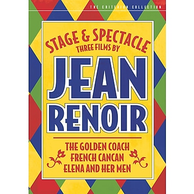 Stage and Spectacle: 3 Films By Jean Renoir (DVD)