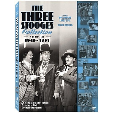 The Three Stooges Collection: Volume Six: 1949-1951 (DVD)