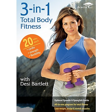 3-In-1 Total Body Fitness w/Desi Bartlett (Acacia) (DVD)