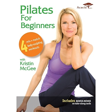 Pilates for Beginners w/Kristen McGee (Acacia) (DVD)