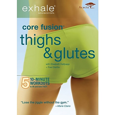 Exhale - Core Fusion - Thighs & Glutes (Acacia) (DVD)