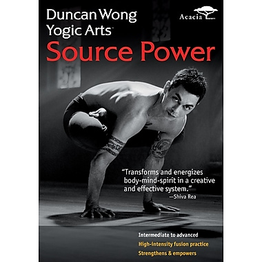 Duncan Wong Yogic Arts - Source Power (Acacia) (DVD)