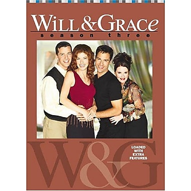 Will & Grace: Season 3 (DVD)
