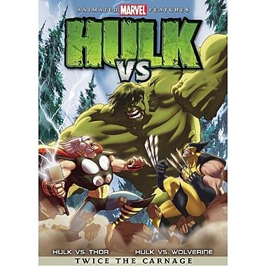 Hulk vs Thor/Hulk vs Wolverine (DVD)