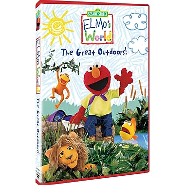 Seasame Street: Elmo's World: The Great Outdoors! (DVD)