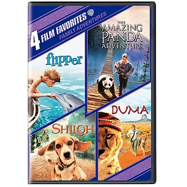 4 Film Favourites: Family Adventures (DVD)