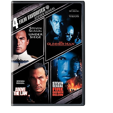 4 Film Favourites: Steven Seagal (DVD)