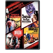 4 Film Favourites: Draculas (DVD)