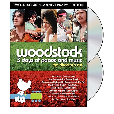 Woodstock: 3 Days of Peace and Music (DVD)