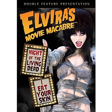 Elvira's Movie Macabre: Night of The Living Dead/I Eat Your Skin (DVD)