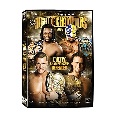WWE 2009: Night of Champions2009: Philadephia, PA: July26, 2009 (DVD)